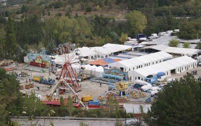 Η φωτογραφία της ημέρας: Η εμποροπανήγυρη της Κοζάνης από ψηλά