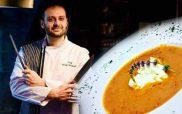 Ο Σεφ Γιώργος Καλογερίδης προτείνει… Σούπα βελουτέ καρότο-πορτοκάλι με τουλουμίσιο