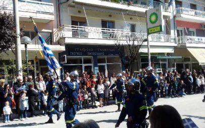 Για πρώτη φορά στην παρέλαση της Πτολεμαΐδας η Ακαδημία Πυροσβεστών