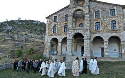 Εγκαινιάστηκε ο ιστορικός Ιερός Ναός Αγίου Γεωργίου Κρυσταλλοπηγής