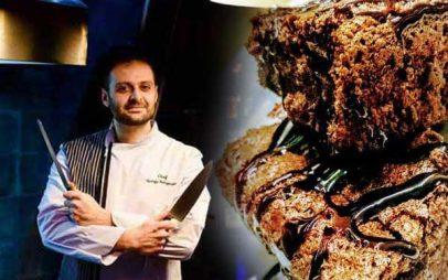 Ο Σεφ Γιώργος Καλογερίδης προτείνει… Εύκολα και λαχταριστά μπράουνις φουντουκιού!