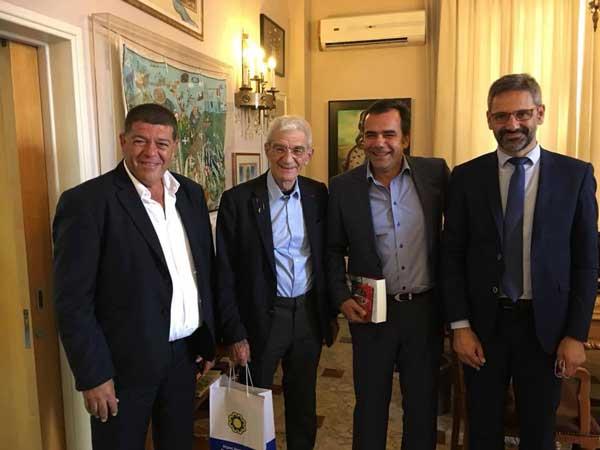 Στην Κύπρο βρέθηκαν οι δήμαρχοι Κοζάνης Λευτέρης Ιωαννίδης και Θεσσαλονίκης Γιάννης Μπουτάρης