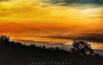 Φωτογραφία της ημέρας: Πανοραμική θέα της λίμνης Πολυφύτου