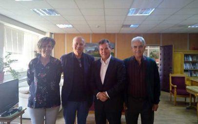 Συνάντηση του Περιφερειακού Σωματείου Συνταξιούχων ΔΕΗ με τον Τάσο Πετρόπουλο