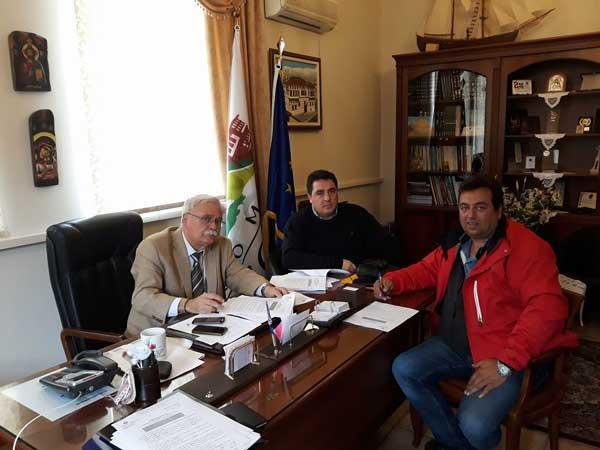 Υπογραφή συμβάσεων συντήρησης υφιστάμενης αγροτικής οδοποιίας Δήμου Βοΐου
