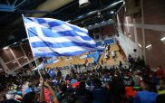 Η καταπληκτική κερκίδα που έκαναν οι χιλιάδες θεατές της Κοζάνης στα κορίτσια της Εθνικής μας Ομάδας Μπάσκετ