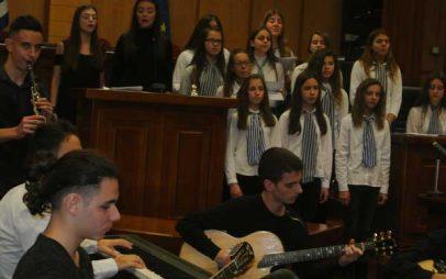 «Δεν θα περάσει ο φασισμός» το μήνυμα των μαθητών του Μουσικού Σχολείου Σιάτιστας