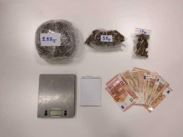 Σύλληψη 2 ατόμων στην Κοζάνη για παραβάσεις των νόμων περί ναρκωτικών και όπλων