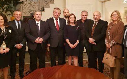 Γεώργιος Ντζιμάνης : Συνάντηση με την Πρέσβειρα του Ισραήλ