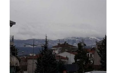 Η Φωτογραφία της Ημέρας: Χιονισμένα τα βουνά της Κοζάνης…
