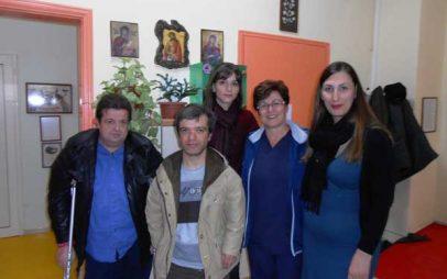 Για τα θέματα που αφορούν την αναπηρία ενημέρωσε τα μέλη του Α΄ΚΑΠΗ Πτολεμαϊδας  το Προεδρείο του Συλλόγου ΑμεΑ  Π.Ε. Κοζάνης Περιφέρειας Δυτικής Μακεδονίας