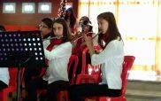 Η μπαντίνα της Φιλαρμονικής Δήμου Κοζάνης στην Μεθώνη Πιερίας