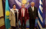 Συμμετοχή του Βουλευτής ΣΥΡΙΖΑ Κοζάνης Ντζιμάνη Γεώργιου στην Εκδήλωση για τον Εορτασμό των 26 χρόνων Ανεξαρτησίας του Καζακστάν