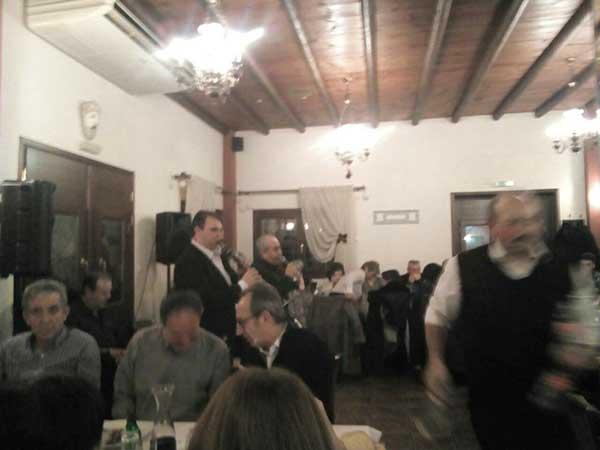 Ο Σύλλογος Ηπειρωτών Κοζάνης έκοψε την παραδοσιακή βασιλόπιτα