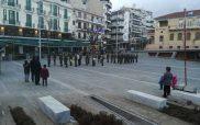 Με το «Μακεδονία ξακουστή» μπήκε στην πλατεία της Κοζάνης η στρατιωτική μπάντα