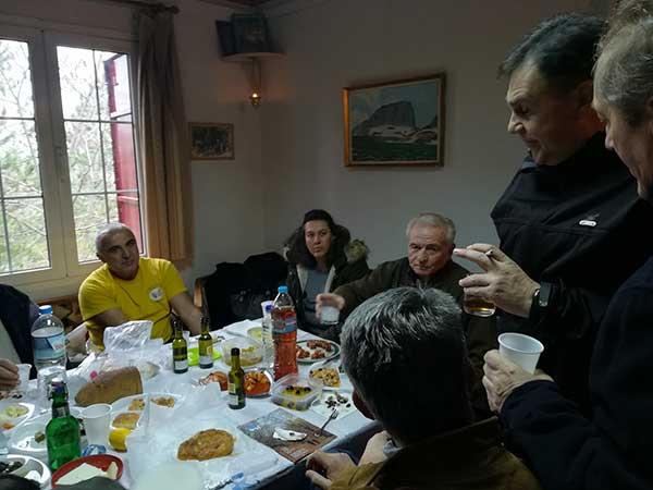 Ο ΣΕΟ Κοζάνης έκοψε την πρωτοχρονιάτικη πίτα στο Σμάθ'κο