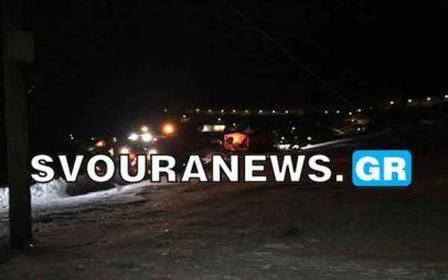 ΚΑΣΤΟΡΙΑ: Τροχαίο ατύχημα με εκχιονιστικό μηχάνημα στη Κλεισούρα
