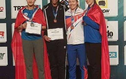 Την τρίτη θέση κατέκτησε στο 6th European Taekwondo Clubs Championships- World Taekwondo – G-1 η αθλήτρια της Εορδαικής Δύναμης Χριστίδου Γραμματούλα