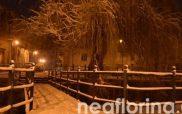 Στα λευκά η πόλη της Φλώρινας (pics)