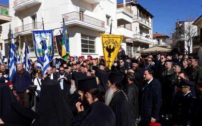 Ιερό Μνημόσυνο για τον ήρωα του Μακεδονικού Αγώνα Παύλο Μελά