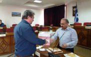 Ο Δήμαρχος Εορδαίας έκοψε τη βασιλόπιτα των εργαζομένων του Δήμου