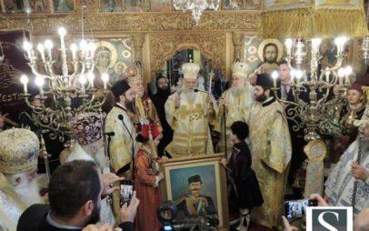 Καστοριά: Λαμπρό συλλείτουργο της Ιεράς Συνόδου για τον ήρωα Παύλο Μελά παρουσία του Αρχιεπίσκοπου Ιερώνυμου