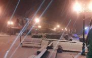 Πυκνή χιονόπτωση και στο Τσοτύλι!