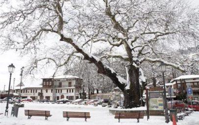 Έκτακτο δελτίο καιρού: Καταιγίδες και πυκνές χιονοπτώσεις