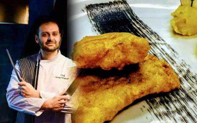 Τα μυστικά για το σωστό τηγανισμα του μπακαλιάρου, του Σεφ Γιώργου Καλογεριδη….