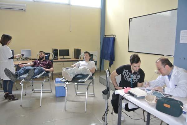 Οι φοιτητές του Πανεπιστημίου συμμετείχαν στην αιμοδοσία της «Γέφυρας Ζωής»!