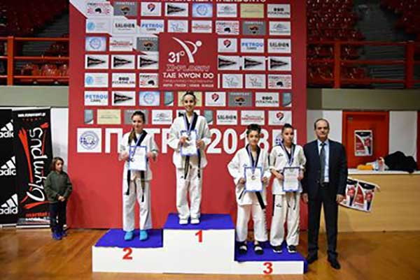 Άλλη μία διάκριση για τον Σπάρτακο Κοζάνης στο πανελλήνιο Πρωτάθλημα εφήβων-νεανίδων