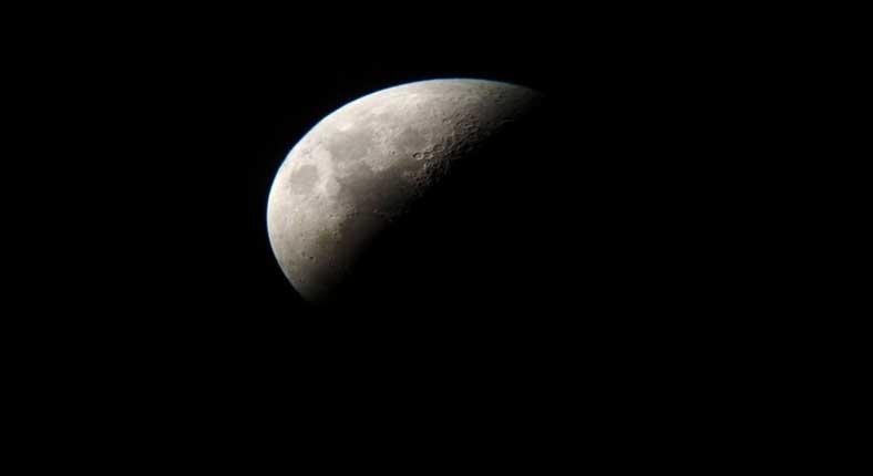 Η Φωτογραφία της Ημέρας: Το φεγγάρι της Κοζάνης μέσα από το τηλεσκόπιο του Αστρονομικού Συλλόγου Δ. Μακεδονίας