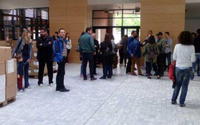 Κλιμάκιο 50 πολιτικών μηχανικών ξεναγήθηκε στους νέους χώρους της Κοβενταρείου Βιβλιοθήκης