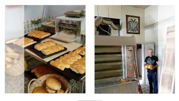 Καρβέλι..ΠΑΟΚ στην Ξηρολιμνη απο τον φούρνο Λεωνιδακη!