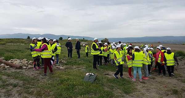 Δενδροφύτευση από μαθητές της Πτολεμαΐδας στο ορυχείο Αμυνταίου