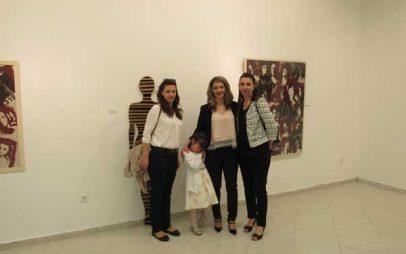 Πτολεμαΐδα: Εγκαινιάστηκε η εικαστική έκθεση «ΚΩΔΙΚΕΣ» της Αλεξάνδρας Τσιτσιντά