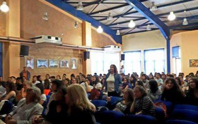 Επίκαιρη ενημερωτική εκδήλωση του Κέντρου Κοινότητας Δήμου Εορδαίας για τους μαθητές της Α' και Β' Λυκείου του 3Ου ΓΕΛ Πτολεμαΐδας