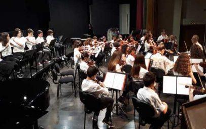 Η Συμφωνική Ορχήστρα του Δ.Ω.Κ. συμμετείχε στις εκδηλώσεις του Δημοτικού Ωδείου Λάρισας