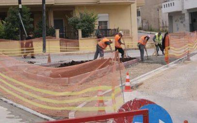 Δήμος Κοζάνης: Βελτίωση διαδρομών και πεζοδρομίων για καλύτερη κινητικότητα