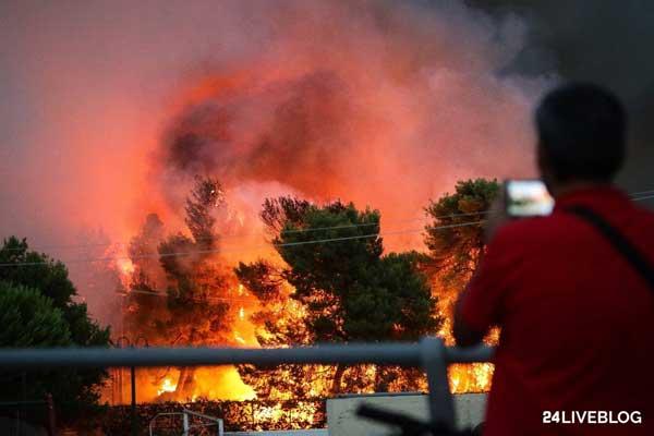 11 χρόνια πριν η πυρκαγιά στα Πιέρια και η φονική φωτιά στην Ηλεία -Τώρα στην χαροκαμένη Αττική με την ελληνική οικογένεια μαζί και στον θάνατο - Πρωινός Λόγος Κοζάνη