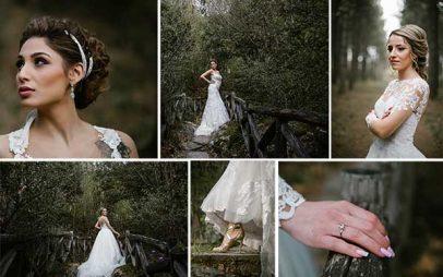 magazzino: Ονειρική νυφική φωτογράφηση στο δάσος Κουρί και στο Σκεπασμένο του Βελβεντό
