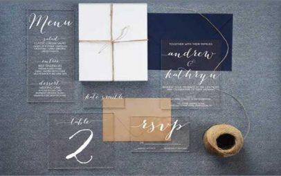 magazzino: Ακρυλικά προσκλητήρια γάμου –  Η εντυπωσιακή τάση  που ήρθε για να μείνει