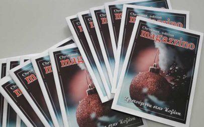 Κυκλοφόρησε στην Κοζάνη το magazzino των Χριστουγέννων-Αναζητήστε το σε καφέ και ζαχαροπλαστεία της πόλης