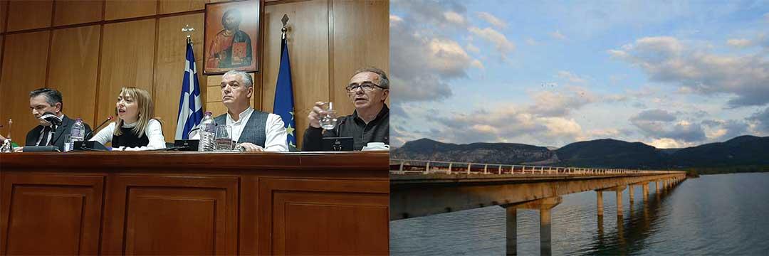 Να ξεκινήσει η κατασκευή νέας γέφυρας στη λίμνη Πολυφύτου προτείνει ο περιφερειάρχης-Γιώργος Κασαπίδης: «Η γέφυρα αυτή έχει την κατασκευή του Μοράντι , της γέφυρας που έπεσε στη Γένοβα»