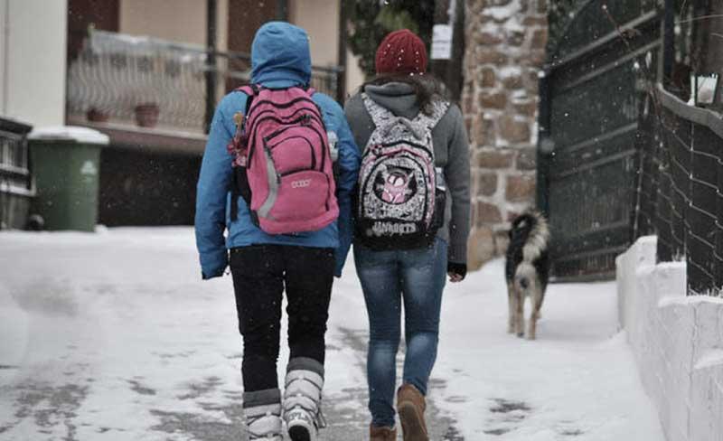 Μία ώρα αργότερα θα ανοίξουν τα σχολεία του Δήμου Φλώρινας την Πέμπτη 28 Ιανουαρίου