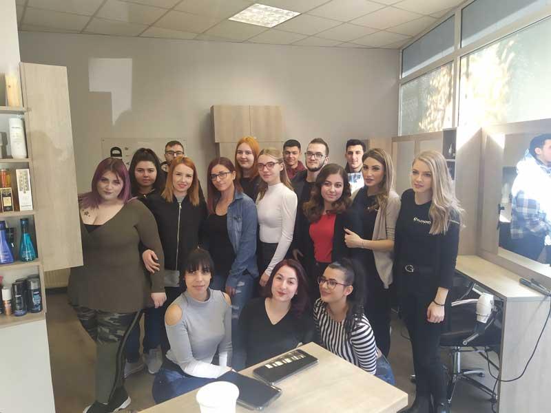 ΕΠΑ.Σ ΟΑΕΔ Μαθητείας Κοζάνης : Εκπαιδευτική εκδρομή πραγματοποίησαν οι μαθητές με ειδικότητα στην κομμωτική τέχνη
