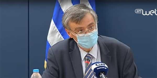 Επανεμφάνιση Τσιόδρα μετά τα 1259 κρούσματα! «Τελευταία επιλογή το lockdown! Η μάσκα αναγκαίο κακό»