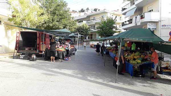 Μόνο με rapid test οι εκθέτες στις   λαϊκές  αγορές της  Κοζάνης-Δεν θα διεξαχθεί στον Κρόκο αυτή την Τρίτη