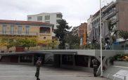 Η έπαρση της  σημαίας στην κεντρική πλατεία της Κοζάνης-Μια ακόμα εθνική επέτειος χωρίς εκδηλώσεις