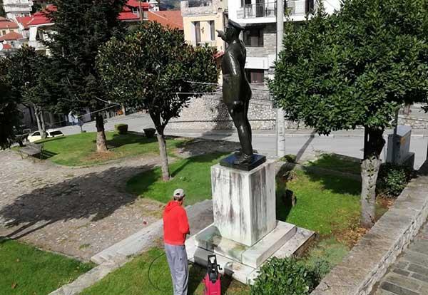 """""""Τα μνημεία έχουν ιδιαίτερο συμβολισμό και αποτελούν κομμάτι της ιστορίας του τόπου μας"""""""